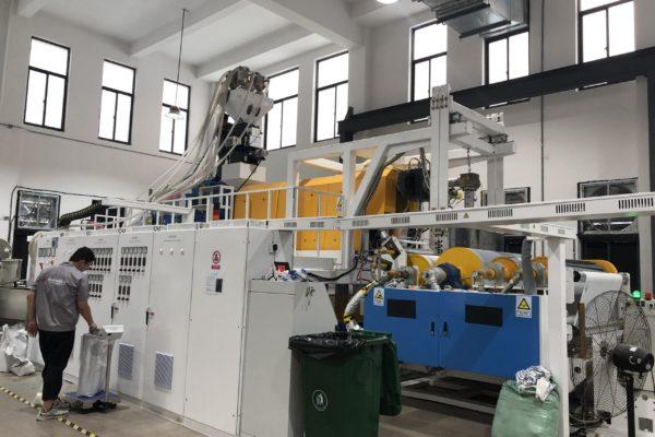 Foil Solaxess production machine