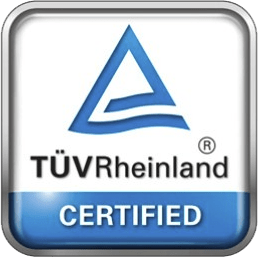 Certification TÜV Solaxess white film