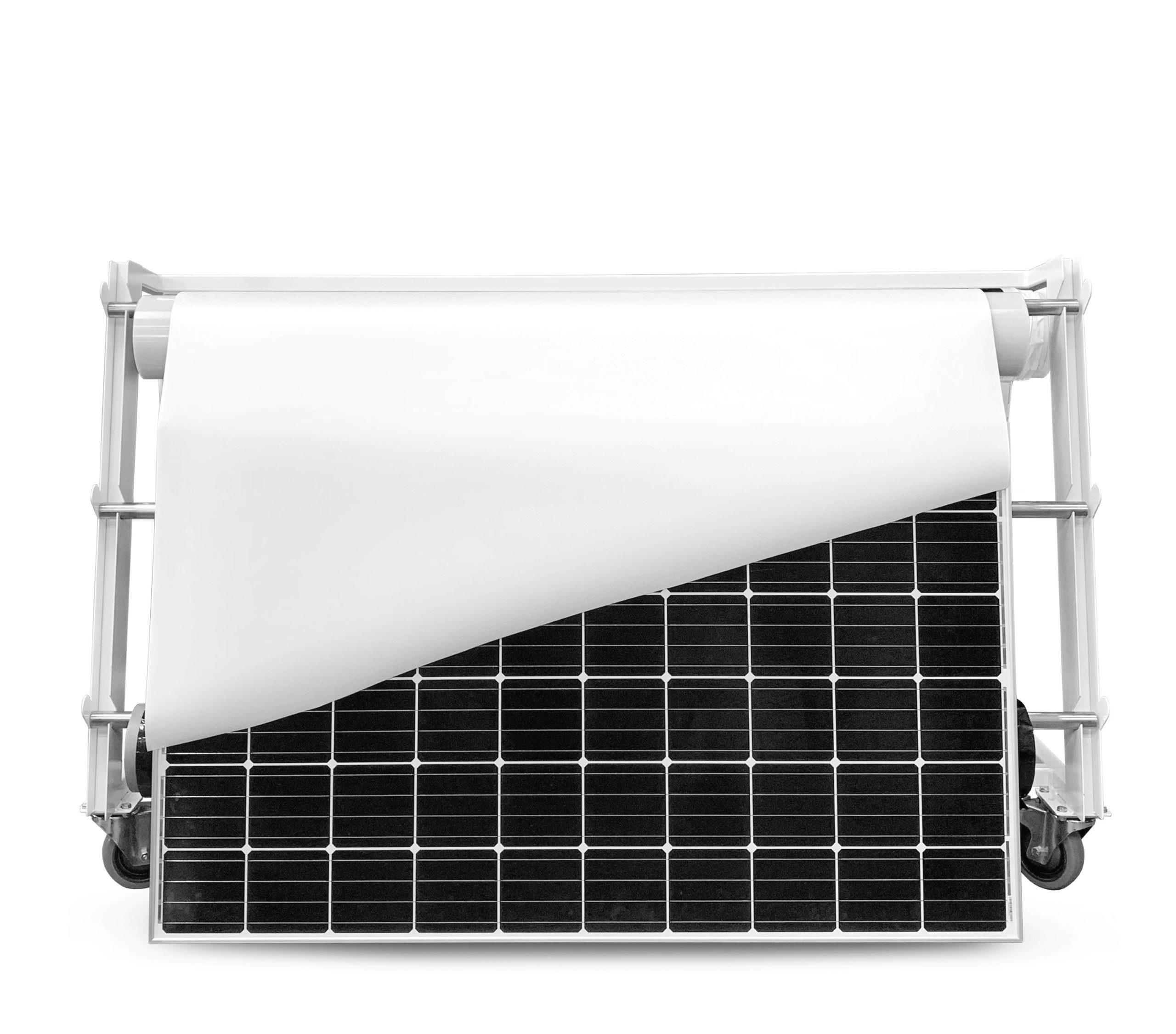 Solaxess white pv module