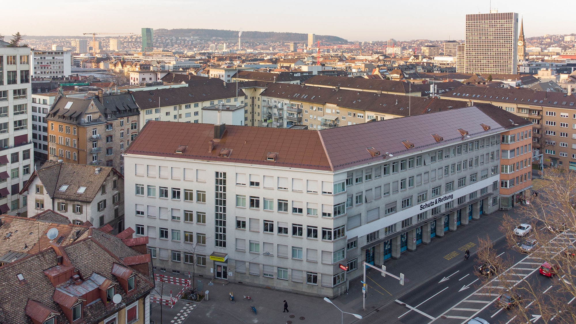 EWZ Zurich Solaxess terracotta